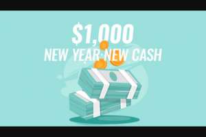 Iheart – National New Year New Cash Sweepstakes