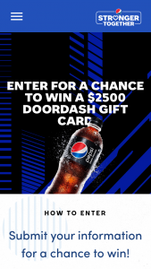 Iheartmedia – Pepsi Stronger Together Game Days Sweepstakes