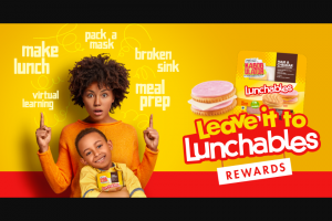 Kraft Heinz Foods – Leave It To Lunchables – Win one (1) $10000 check and one (1) one-year Instacart Express membership† (terms and conditions apply).