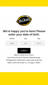 Mark Anthony Brands Mxd Cocktail – Mystery Sweepstakes