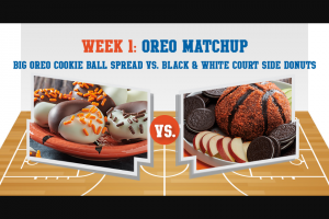 Mondelez Global – Nabisco Snack Bracket – Win (4) to New Orleans LA to attend the 2022 NCAA® Men's Final Four®.
