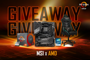 Msi – Amd B550 Limited Edition Giveaway – Win MSI Special Edition Motherboard MEG B550 UNIFY-X with AMD Ryzen logo and (1x) AMD Ryzen 7 3700X Processor 2nd Prize (1x) MSI Special Edition Gaming Chair ASSASSIN'S CREED VALHALLA