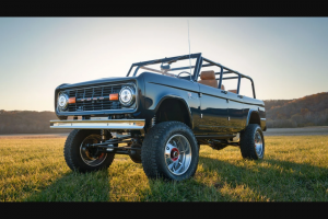 Omaze – Custom Gateway Ford Bronco 4-door And $20000 – Win a vintage Ford Bronco that has been restored and converted to a 4-door (by Gateway Bronco) and $20000 USD