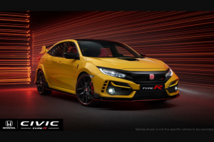 Omaze – Limited Edition Honda Civic Type R – Win a Honda Civic Type R Limited Edition in Phoenix Yellow
