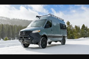 Omaze – Sprinter Van With An $80000 Vansmith Conversion – Win a 2021 Mercedes Sprinter Van with an $80000 conversion