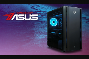 Origin PC – #poweredbyasus Sweepstakes