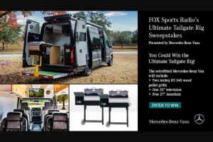 Premiere Networks – Fox Sports Radio's Ultimate Tailgate Rig Sweepstakes