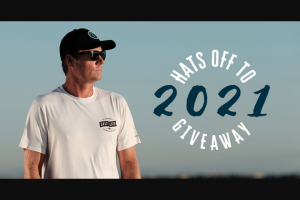 The Salt Life – Hats Off To 2021 And New Beginnings Giveaway – Win Consist Of (4) Salt Life Hats One (1) Pair of Salt Life Optics Sunglasses and One (1) Gift Code to SaltLifecom Valued at Two-Hundred and 00/100 Dollars ($200.00).