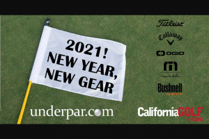 Underpar – New Year New Gear Sweepstakes