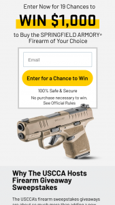 Us Conceal Carry – Monthly Uscca $1000 Giveaway Sweepstakes