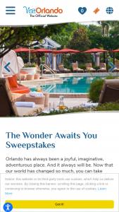 Visit Orlando – Orlando Family Vacation – Win one flight voucher per traveler