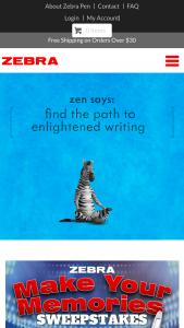 Zebra Pen – Make Your Memories Sweepstakes