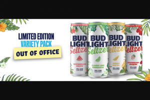Anheuser-Busch – Out Of Office Email Contest – Win $1000.00 (awarded in the form of a check made payable to winner).