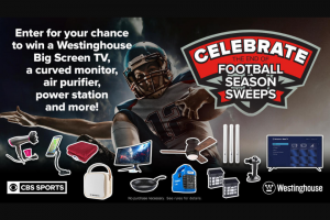 CBS Sports – Celebrate The End Of Football Sweepstakes