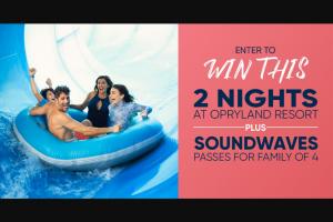 Circle Media – Opryland Resort Giveaway – Win 2 nights (inclusive of tax