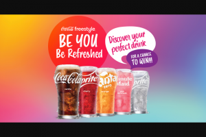 Coca-Cola Freestyle – Be You Be Refreshed Instant Win – Win notification@prepaiddigitalsolutionscom that