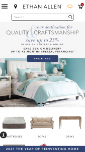 Ethan Allen – $1000 Gift Card Drawing Sweepstakes
