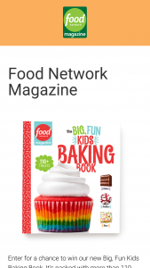 Food Network Magazine – Big Fun Kids Baking Book – Win one (1) Food Network Magazine Big