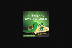 Frankly Media – $3000 Shamrock – Win a cash award in the amount of US$3000.