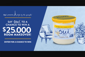 General Mills Oui By Yoplait – Style By The Spoonful Sweepstakes