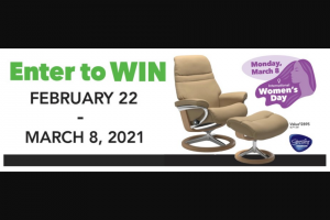Nebraska Furniture Mart – Ekornes Chair And Ottoman – Win includes Stressless Ekrones Chair Valued at $2895 Sku 46791349
