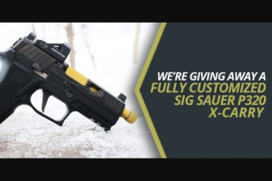 Night Fision – Sig Sauer Giveaway Sweepstakes