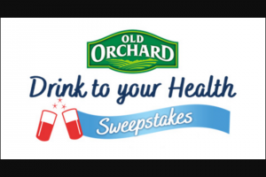 Old Orchard – Drink To Your Health – Win Free Juice for a Year in the form of 52 Free Product Coupons