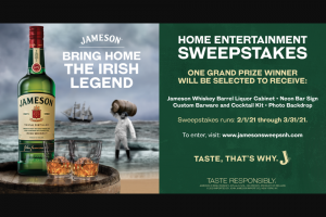 Pernod Ricard – Jameson Irish Whiskey Home Entertainment – Win Total Winner) – Jameson Home Entertainment
