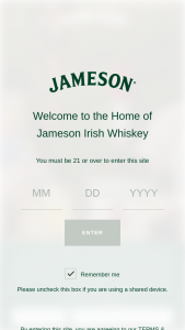 Pernod Ricard – Jameson St Patrick's Spto – Win total) A $50 Sponsor-selected electronic gift card and a $50 donation to a Sponsor-selected charity made by the Sponsor in the winner's name (ARV $100 each).