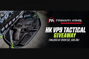 Primary Arms – Hk Vp9 Tactical Giveaway Sweepstakes
