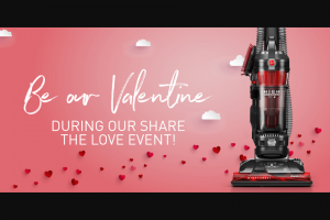 Royal Appliance Hoover – Share The Love Sweepstakes