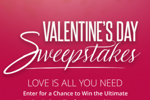 Sandals – Valentine's Sweepstakes