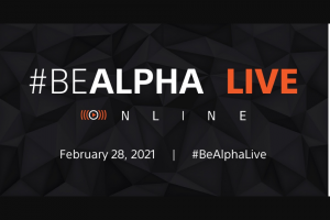 Sony Electronics – #bealpha Live Online Event – Win one (1) Sony Alpha 1 camera (body only) (model ILCE-1).