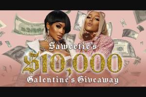 Tunespeak – Saweetie's $10000 Galentine's Giveaway – Win One Galentine's Day Gift Box