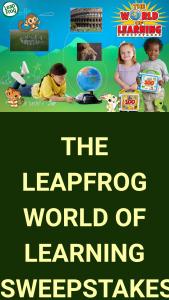 Vtech Leapfrog – World Of Learning – Win a $500 Walmart Gift Card (or