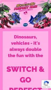 Vtech – Switch & Go Perfect Pair – Win a Walmart Gift Card for $500.