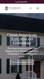Winchester Windows And Doors – Bristol Great American $36000.00 Giveaway Sweepstakes