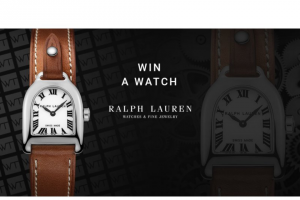 Worldtempus – Ralph Lauren Watch Sweepstakes