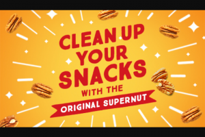 American Pecan Council – Clean Up Your Snacks – Win snacks for a year