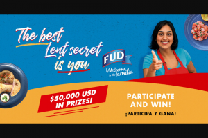 Bar-S Foods – Fud $50000 Kitchen Makeover Lent Contest Sweepstakes