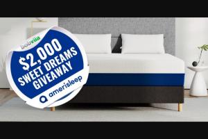 Bob Vila – $2000 Sweet Dreams Giveaway With Amerisleep – Win one (1) prize package from Amerisleep