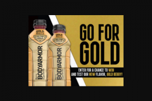 Bodyarmor – Gold Bottle – Win gold bottle