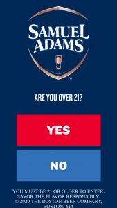 """Boston Beer Company – Samuel Adams Insulated Pacing Apparatus (ipa) – Win One (1) Limited edition Samuel Adams Insulated Pacing Apparatus (IPA) and $5 Drizly coupon with an Approximate Retail Value (""""ARV"""") – $500."""