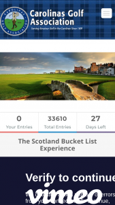 Carolinas Golf – Scotland Golf Bucket List – Win 3-nights lodging for two at Rusacks Hotel