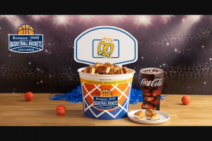 Coca-Cola – Auntie Anne's Basketball Buckets Challenge Sweepstakes