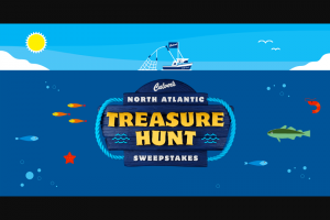 Culver's – North Atlantic Treasure Hunt Instant Win Game And – Win one deck of waterproof playing cards