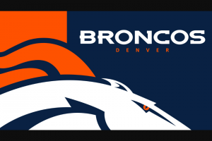 Denver Broncos And Scheels – All Sports Sweepstakes