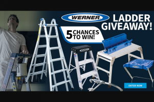 Do It Best – Werner Ladder Giveaway – Win 26′ Aluminum Multi-Position Telescoping Ladder with 300-Lb