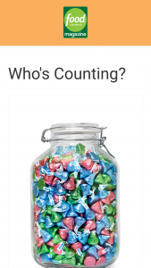 Food Network Magazine – April 2021 Who's Counting Contest – Win a $500 check (ARV $500).