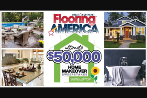 Gannett – Florida Today Ultimate $50000 Home Makeover – Win awarded a check in the amount of $25000.